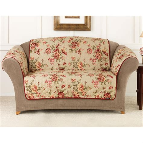 loveseat covers sure fit 174 lexington floral loveseat pet cover 292856