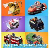 Ninjatoes Papercraft Weblog Nick Jr PAW Patrol Vehicles