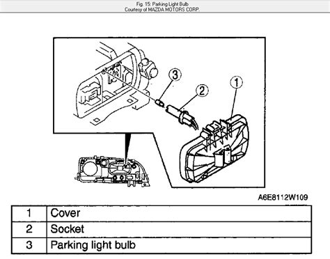 mazda 6 light bulb how do i change the parking light bulb in my 2007 mazda 6