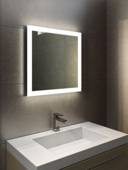 heated bathroom mirrors with lights halo led light bathroom mirror led demister bathroom