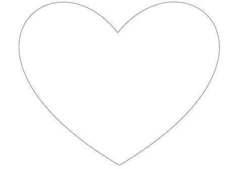 imagenes de corazones simples dibujo para colorear coraz 243 n simple img 10035