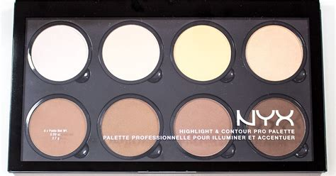 palette painting highlights warpaint and unicorns nyx highlight contour pro palette