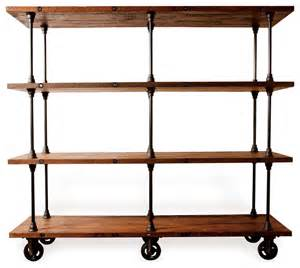 Industrial loft collection industrial bookcases other metro by