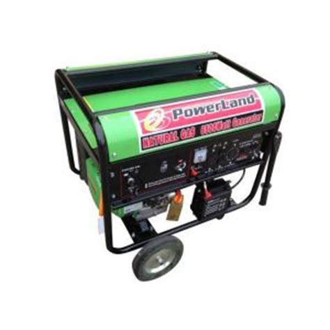 powerland 6 500 watt gas generator new version