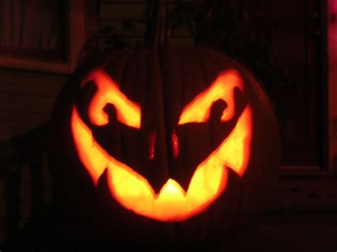 best photos of scary jack o lantern templates scary jack