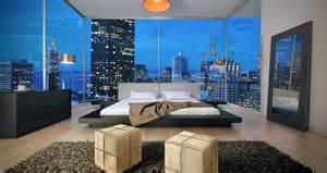 Platform Beds New York City Modern Wenge Grey Low Profile Platform Bed W Leather
