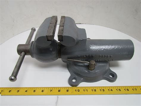 wilton bench vice wilton cadet 4 quot bench vise w swivel base 5 quot opening usa ebay