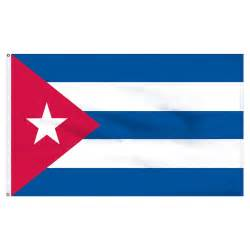 cuban colors cuba 4ft x 6ft flag with indoor pole hem and fringe