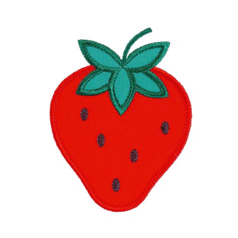 embroidery applique design strawberry appliques machine embroidery designs applique