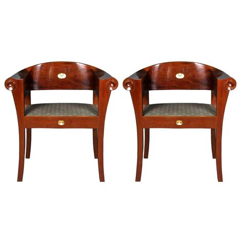 unique armchairs johan rohde an unique pair of armchairs for sale at 1stdibs