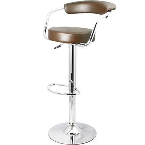 Brushed Chrome Bar Stools by Brushed Stainless Steel Chrome Satin Kitchen Breakfast Bar
