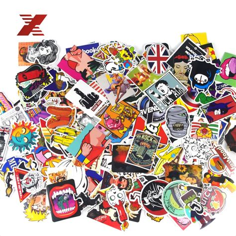 27 Mix Brands Stickers buy wholesale sticker bomb from china sticker bomb