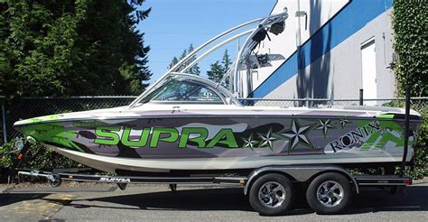 supra boats customer service boat vinyl wraps service including graphics