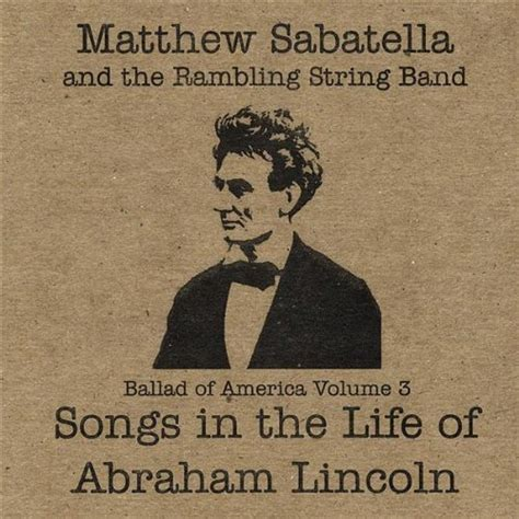 abraham lincoln biography mp3 amazon com tenting on the old c ground matthew