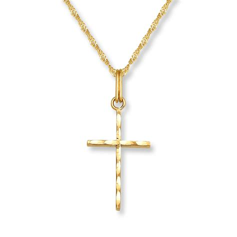 Cross Necklace white gold bracelets jewelers necklace