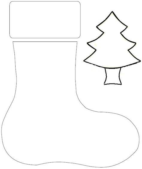moldes para imprimir de navidad bonita bota de navidad en fieltro manualidades