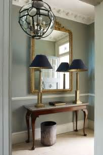 Ideas For Long Narrow Living Rooms - hallway tableau with console table and mirror design ideas houseandgarden co uk