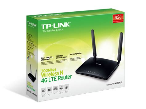 tl mr6400 300mbps wireless n 4g lte router tp link