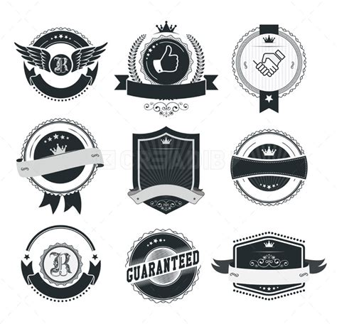 vintage badge template www pixshark com images