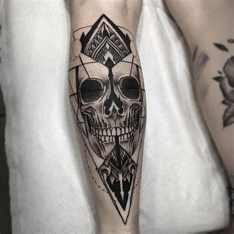 skull leg tattoo fresh blackwork skull leg from otheser blackwork