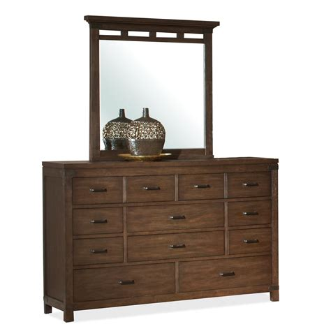 10 drawer dresser with mirror 10 drawer dresser mirror set by riverside furniture
