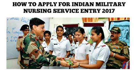 how to apply for a service how to apply for indian nursing service entry 2017