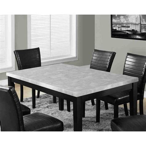 Black And White Dining Tables Black And White Marble Dining Table Temasistemi Net