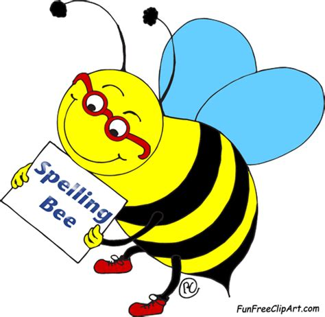 spelling clip spelling bee free clipart funfreeclipart