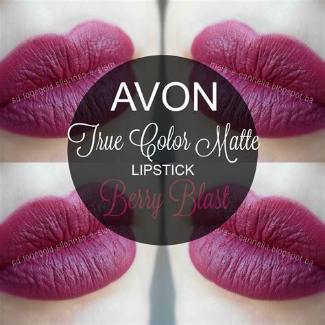 Lipstik Avon mela e cannella avon true color matte lipstick berry blast