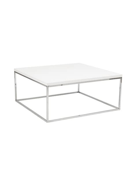 float square coffee table modern furniture brickell