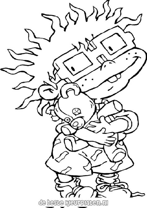 rugrats halloween coloring pages rugrats005 printable coloring pages