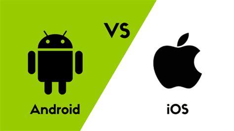 Android Versus Ios 2018 by App Erstellen Unterschiede Bei Android Und Ios Bei Der