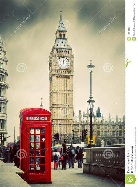 imagenes vintage big ben cabine t 233 l 233 phonique rouge et big ben 224 londres r u image