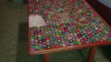 cap table top how to a bottle cap table