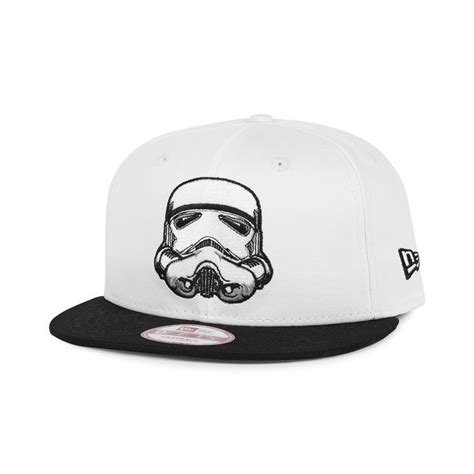 Topi Snapback Wars Black Trooper new era stormtrooper snapback white black 18 00