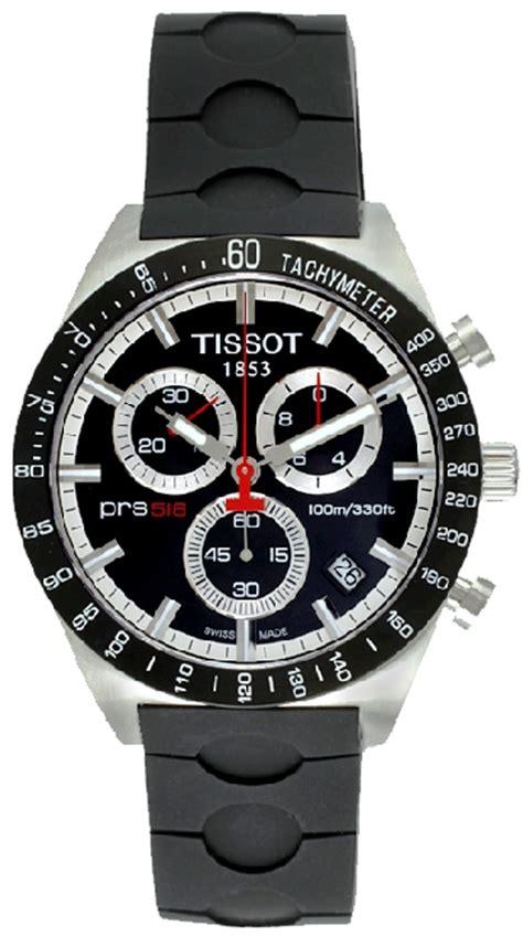 Tissot Prs 516 Rosegold Black t044 417 27 051 00 tissot prs516 quartz chronograph black mens