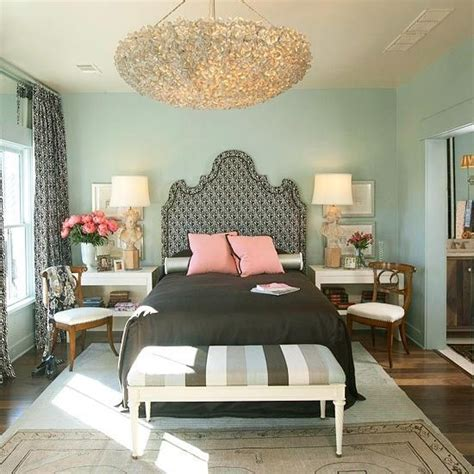 seafoam green and coral bedroom soft teal walls paired black and coral by iris favorite