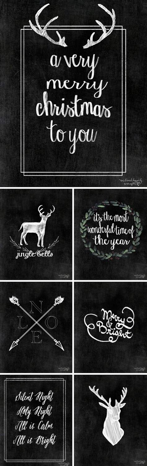 free love printables we lived happily ever afterwe lived free christmas printables part i we lived happily ever