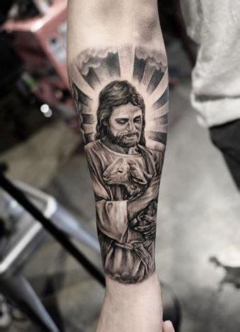 tattoo jesus cristo no antebraço 25 b 228 sta id 233 erna om tatuagem jesus cristo p 229 pinterest