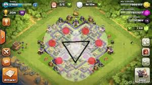 Clash of clans th8 dark elixir farming base clash of clans game hack