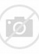 Teen Girl On Grass Background