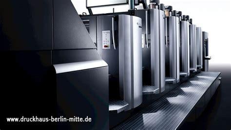 Online Druckerei Berlin by Druckerei In Berlin Druckt G 252 Nstig Flyer Kataloge