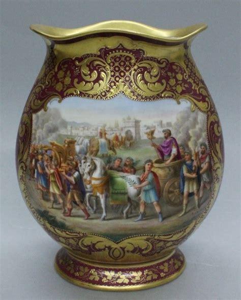 Royal Vienna Vase by Royal Vienna Porcelain Vase Royal Vienna Porcelain