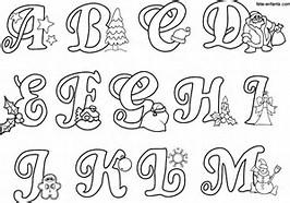 marcadores alfabeto letras