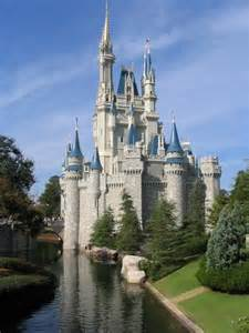Castle from walt disney world magic kingdom park florida
