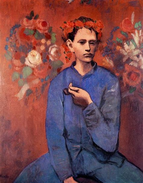 picasso paintings boy and 1000 images about brush strokes portraits on