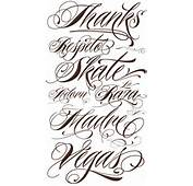 Tattoo Fonts Characters  Best Of Free Tattoos Design