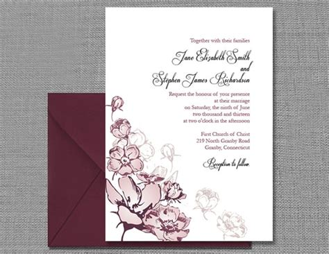 Wedding Card Design In Pagemaker by Wedding Invitation Templates That Are And Easy To