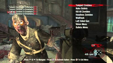 how to install cod patches mod menus using multiman tutorial call of duty black ops zombies 1 13 mod menu ps3 gr3zz v3