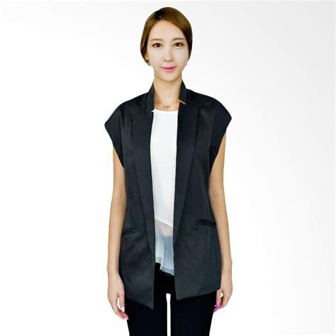 Jual Basic Vest Cantik jual kakuu basic vest buttonless slim fit gray harga kualitas terjamin blibli